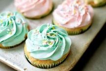 Pretty Cupcakes / Pretty cupcake DIY ideas and inspiration. / by Layer Cake Shop