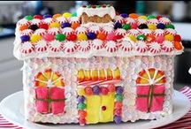 ❤ Gingerbread Houses ❤ / Gingerbread House goodness