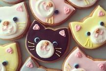 ❤ Cute Animals ❤ / Cute animal cupcakes, cookies, and cakes.