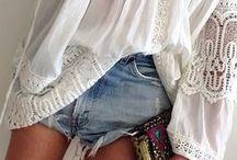 Adlib e Ioo / El estilo bohemio, natural, sencillo, cómodo, informal y atrevido....me encanta