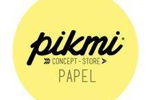 PAPEL / { PIKMI Papel } Papelería - Libretas - productos con papel