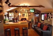 Mancaves/Sheds / Dedicated to the pursuit of the ultimate Man cave. / by Barrie Buckley