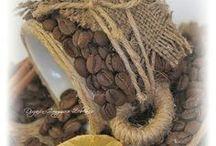 Поделки из кофе и корицы