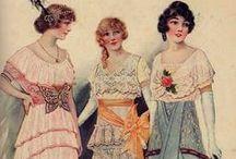 мода 1900-1920 г.г.