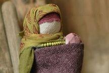 русские тряпичные куклы