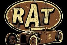 AUTO Rat Rods / by Rick Shier