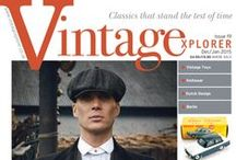 Vintagexplorer - Issue 19 / www.vintagexplorer.co.uk In this issue:  Winter Wonders Auction News A Knitting Tribute Vintage Fashion Complete A Chip off the Old Bloc Design without Borders A'Dam Fine Time Lights, Camera, Curry! Collecting Dutch Design Mantiques Gift Guide Toy Time What a Blinder!