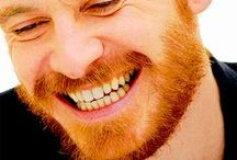 Fassy Ginger Beard / I just wanna rub my face on his beard!