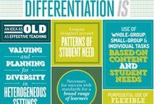 Differentiation Tools / This board provides ideas, tools and best practices for differentiation in the classroom.  Some of them are so quick and easy to implement.