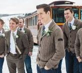 Good lookin' grooms / Fashion for the men on their wedding day! groom
