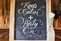 Let's Party! / Wedding decor ideas for after you say I do! Receptions that rock!