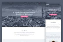 Website Template Concepts