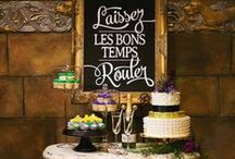 Mardi Gras / A luxe holiday soiree with New Orleans inspired food, decor, and cocktails