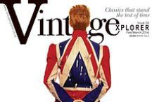 Vintagexplorer - Issue 26 / Changes  Auction News  Space Oddities  Port of Amsterdam  The Man Who Sold the World Heaven's in Here  Oh! You Pretty Things  Atomica  Prisoner of Love Starman  Golden Years  Rebel, Rebel