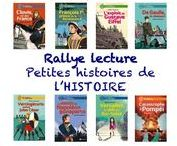 """Rallye lecture """"Petites histoires de l'Histoire"""""""