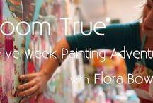 Paints flora Bowley