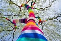Nice knitting and crocheting