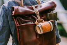 handbag, backpack
