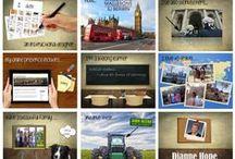 My e-Portfolio / This board showcases the work from my e-Portfolio