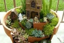 Vílie a škriatkovské domčeky a záhradky