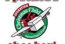 Operation Christmas Child box / by Jan Ferrar