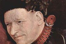 Art - Bosch, Hieronymus / Zeichnungen u. Gemälde | #Kunst