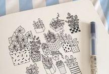 Doodles / Doodling & drawing inspiration.