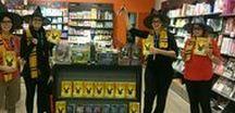 Harry Potter : #SoireeEnsorcelee et #JourneeMagique / A l'occasion de la sortie de Harry Potter et l'enfant maudit, les équipes France Loisirs font la fête avec les lecteurs et fans du célèbre sorcier !