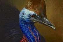 Bird Paintings / Bird Oil Paintings by artist, Andrew Tischler