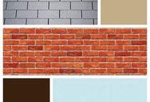 outside wall colours