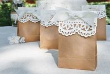 Wedding favors DIY / Nice, classic and particular way to thanks your gusets. DIY.