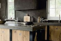 Industrial Kitchen / www.sarahfortescue.com