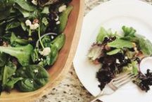 Organic Salads / Recipes for organic and delicious salads!