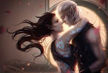 Fantasy Romance / Artists are named wherever known - all artists and their copyrights are fully acknowledged, and cited where possible, but I have a lot of pins and I don't always know who created the piece! If you see a pin without an artist named and know who created it it PLEASE TELL ME IN THE COMMENT SO I CAN ACKNOWLEDGE THEM AS THE ARTIST! Thank you!!