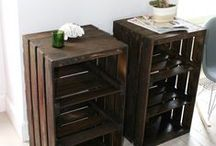 DO - IT - YOURSELF / FURNITURE OF THE HOUSE MADE WITH YOURSELF