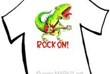 Fun Shirts! / Shirts created for teachers, kids, holidays and just for the fun of it by artist Mark A. Hicks