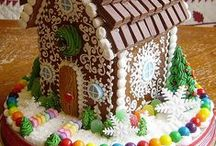 Gingerbread / Gingerbread decorating and recipes / by Donna LaDuke