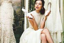 White dresses.