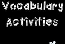 VOCABULARY activities / Activities, ideas, and resources to help support students as they develop their vocabulary. Use these ideas with Kindergarten to Grade 3. Check out the tiered vocabulary ideas!