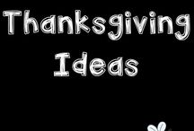 THANKSGIVING activities / Fun crafts, ideas and activities for kids to celebrate Thanksgiving. These ideas are appropriate for students in Kindergarten to Grade 3.