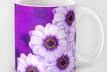 Floral Mugs / Ceramic Mugs