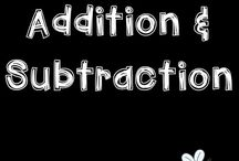 Addition and Subtraction MATH ANCHORS / Activities, ideas and strategies to develop addition and subtraction skills with and without regrouping. These resources are appropriate for elementary students.