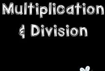 multiplication and division MATH anchors / Activities, ideas and strategies to develop multiplication and division skills of kids. These resources are appropriate for elementary students.