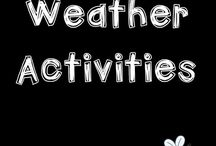 WEATHER activities / Activities, strategies and resources to use with elementary students during a weather unit. These ideas are great for Kindergarten, Grade 1, Grade 2, and Grade 3 students.