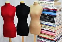 Some of our half scale mannequins / We have created an updated and modern version of the half scale dress form which is a wonderful tool for both students and designers alike. •These mannequins are fully pinnable with a detatchable base. •Our ladies outer covers are a 95%Cotton and 5% elastane mix. •The Wooden stoppers are detatchable so it is easy to add different covers on top. •Our mannequins use measurements that correspond to a UK full size 10.  Neck to base height 72cms Available from http://www.halfsizemannequin.com/