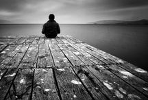 ....a ??? / Alone