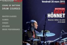 DAVY HONNET - Masteclass / March 20th 2015 in #Paris at Drumming Lab - 9 rue de L'Éperon -  Masterclass with Davy Honnet !!!