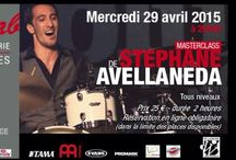 STEPHANE AVELLANEDA / April 29th 2015 in #Paris at Drumming Lab - 9 rue de L'Éperon -  Masterclass with Stephane Avellaneda !!!