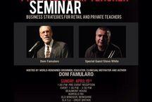 "VIC FIRTH Private Drum Teacher Seminar 2015 / Vic Firth Private Drum Teacher Seminar"" #PDT with #Dom #Famularo and #Steve #White !! Always inspiring!!!"