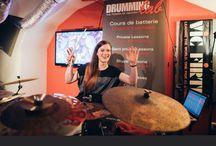 ANIKA NILLES / 23 avril 2015: bel événement que fût celui d'Anika Nilles, dans lequel elle nous à fait part de la manière dont elle approche la musique, de son travail sur l'instrument, de sa notoriété grandissante, et de l'appréhension de tout ses nouveaux challenges... Merci Anika pour ta générosité, ton humilité et de cette envie de partager et te transmettre. Et un merci à Christophe Ptak (SAICO) et à Norbert Saemann (MEINL) d'avoir rendu cette rencontre possible.
